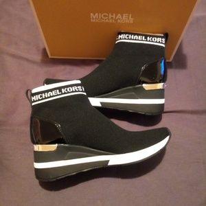 Michael Kors Shoes - Michael Kors Skylar Bootie Sneaker